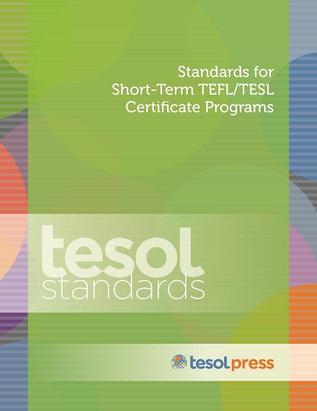Item Detail Standards For Short Term Tefltesl Certificate