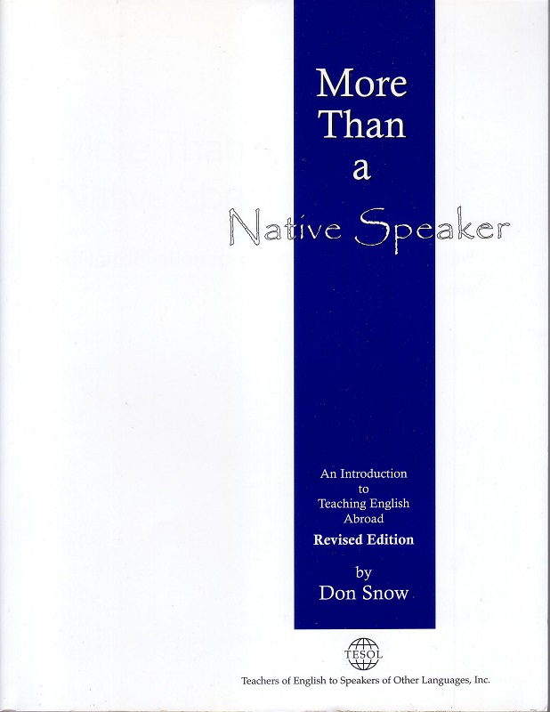 More Than a Native Speaker, Revised Edition