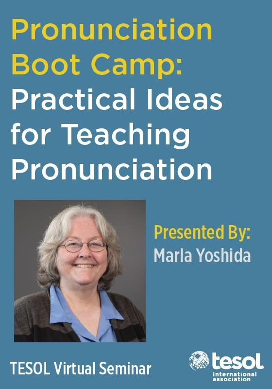 Pronunciation Boot Camp: Practical Ideas for Teaching Pronun (VIRSEM)